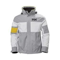 Men's Helly Hansen Salt Light Jacket Silver Grey