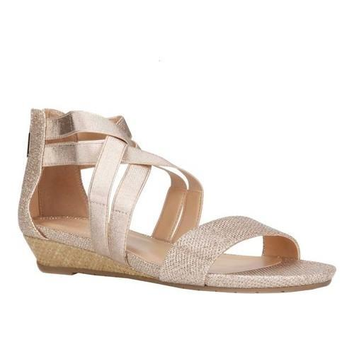 95b35228ac Shop Women's Kenneth Cole Reaction Great Stretch Cross Strap Sandal Rose  Gold Metallic - Free Shipping Today - Overstock - 20254429