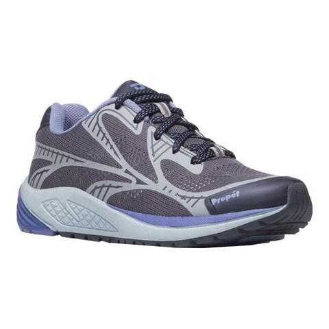 Women's Propet One Lightweight Sneaker Lavender/Grey Mesh