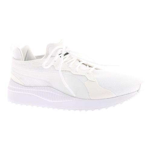 1fd99c7a41e5e2 Shop Men s PUMA Pacer Next Sneaker PUMA White PUMA White - Free Shipping  Today - Overstock - 20254461