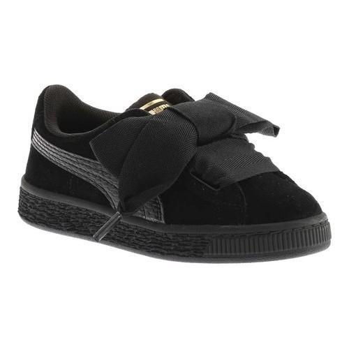 Shop Girls  PUMA Suede Heart PS Sneaker Puma Black Puma Black - Free ... 8fd3e86db
