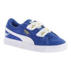 Children's PUMA Minions Suede V PS Sneaker Olympian Blue/PUMA White