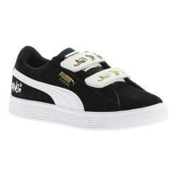 Children's PUMA Minions Suede V PS Sneaker PUMA Black/PUMA White