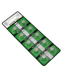 AG5 Button Cell Lithium Batteries (Pack of 10)