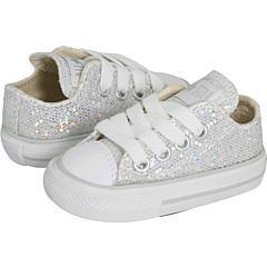 Shop Converse Kids All Star Sparkle Ox (Infant Toddler) Silver Athletic - Free  Shipping On Orders Over  45 - Overstock - 4420616 353ab3bfb2a4