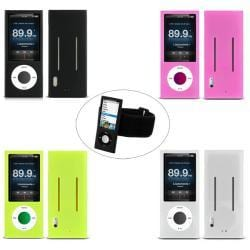MEElectronics Silicone Case Armband for Apple iPod Nano 5