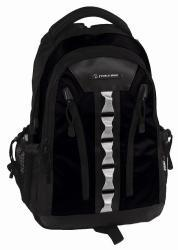 J World 'Russel' Black Air Cell Laptop Backpack