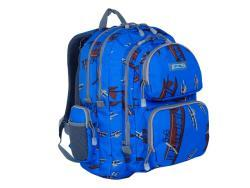 J World Kid's Airplane Muti-pocket Laptop Backpack - Thumbnail 1