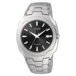 Citizen Men's Eco-drive Titanium Watch - Thumbnail 1