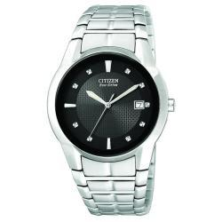 Citizen Men's Eco-drive Stainless Steel Watch - Thumbnail 2