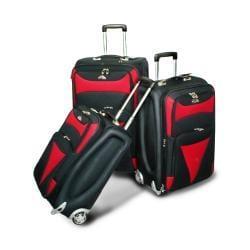 American Flyer Matrix 3-piece Luggage Set - Thumbnail 2