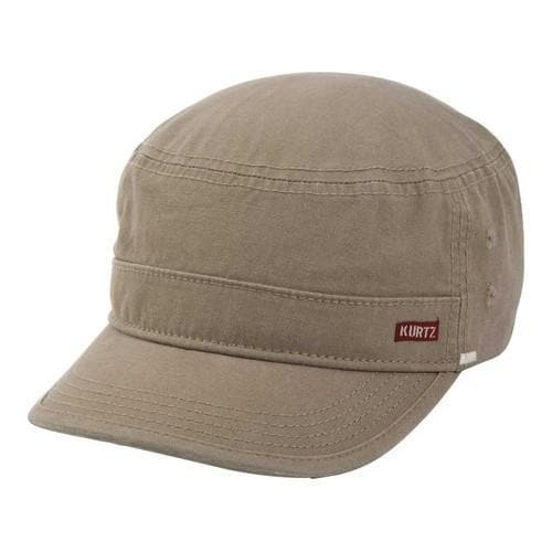 00d82fa72affa Shop Men s A Kurtz Lake Legion Cap Military Brown - On Sale - Free Shipping  On Orders Over  45 - Overstock - 20352961