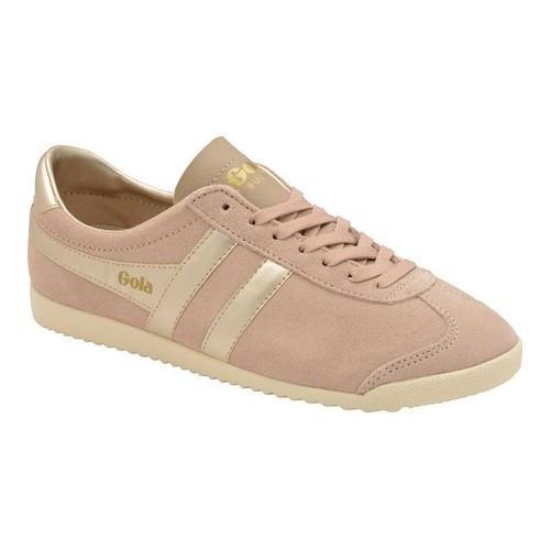 da6de22cf92 Shop Women s Gola Bullet Pearl Trainer Blush Pink Suede - Free Shipping  Today - Overstock.com - 20352999