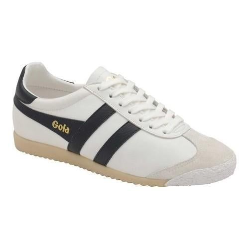 Discount Exclusive Cheap Sale Factory Outlet Gola Harrier 50 Leather Trainer(Women's) -White/Pastel Pink Leather Get Authentic Online Buy Authentic Online Enjoy Sale Online cQMMnmkrwL