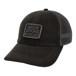 Men's A Kurtz Contrast Stitch Trucker Baseball Cap Black