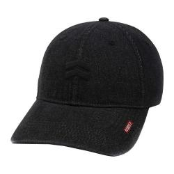 Men's A Kurtz Denim Baseball Cap Black