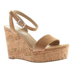 Women's Charles by Charles David Lilla Wedge Sandal Nude Suede