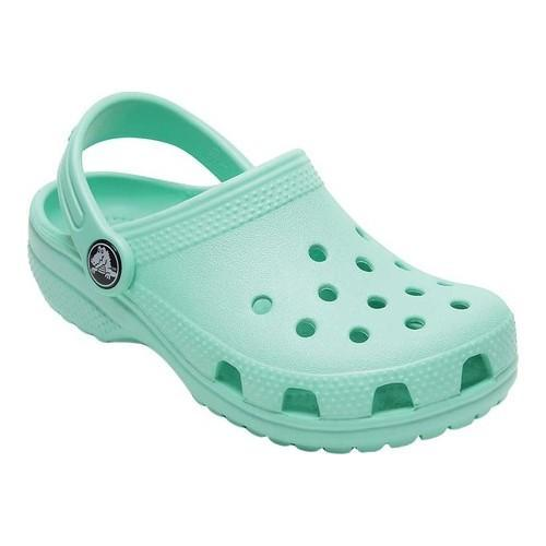 6e792a6f83c80c Shop Children s Crocs Kids Classic Clog New Mint - Free Shipping On Orders  Over  45 - Overstock.com - 20370935