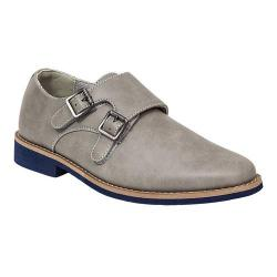 Boys' Deer Stags Harry Monkstrap Grey Simulated Leather