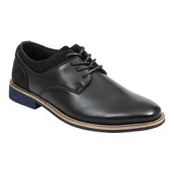 Boys' Deer Stags Jax Oxford Black Simulated Leather