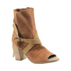 Women's Diba True New Kicks Open Toe Bootie Whiskey Suede (More options available)