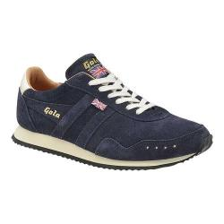 Men's Gola Track 317 Suede Trainer Navy/Navy Suede (3 options available)