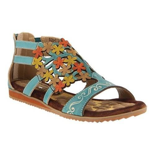 L'Artiste by Spring Step Maribel Flat Sandal (Women's) HEoPhLaU1R