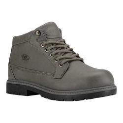 Men's Lugz Mantle Mid Chukka Boot Asphalt/Dark Asphalt/Black Synthetic