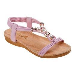 Girls' Petalia P79454S T Strap Sandal Pink Polyurethane