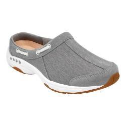 Women's Easy Spirit Travelport Slip-on Grey Leather/Fabric