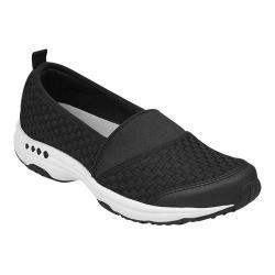 Women's Easy Spirit Twist Slip-On Sneaker Black Fabric/Elastic (More options available)