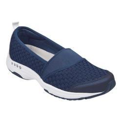 Women's Easy Spirit Twist Slip-On Sneaker Navy Fabric/Elastic (2 options available)