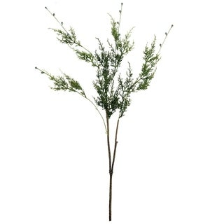 "35.5"" Artificial Green Cypress Decorative Hanging Christmas Spray"