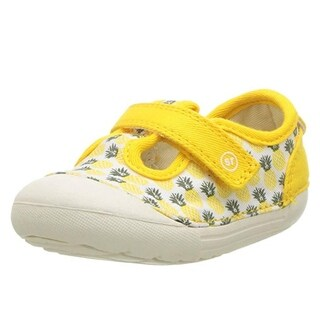 Stride Rite Hannah Girls Sneaker Yellow Pineapple