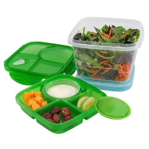 KitchenWorthy 6 Piece Meal Set With Ice Pack