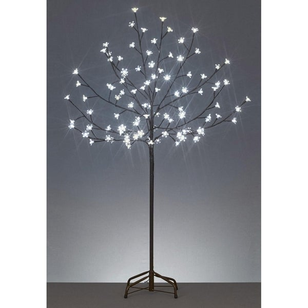 Shop 6 Led Lighted Cherry Blossom Flower Tree Warm
