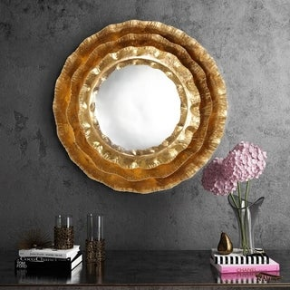 Link to Petal Gold Mirror Similar Items in Mirrors