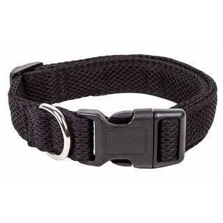 Pet Life ® 'Aero Mesh' 360 Degree Dual Sided Comfortable And Breathable Adjustable Mesh Dog Collar
