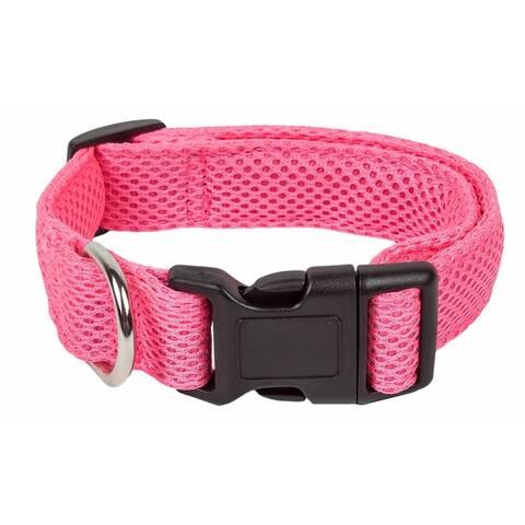 Pet Life 'Aero Mesh' 360 Degree Dual Sided Comfortable and Breathable Adjustable Mesh Dog Collar