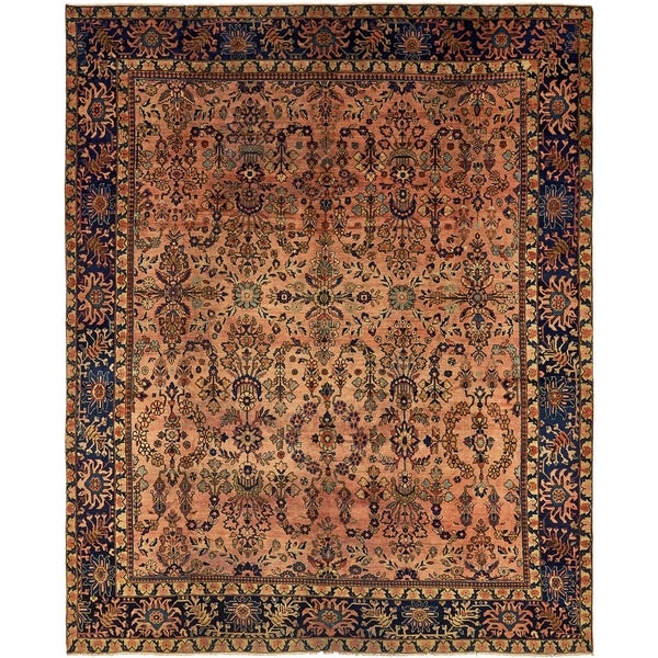 Vintage Persian Bokhara Wool Area Rug 10 X 13: Shop Hand Knotted Liliyan Antique Wool Area Rug