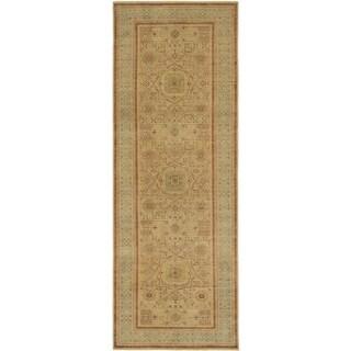 Hand Knotted Mamluk Wool Runner Rug - 5' x 14'