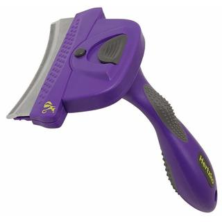 Hertzko Self Cleaning Deshedding Comb for Dogs & Cats
