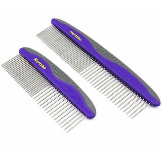 Hertzko Pet Combs Small & Large (Pack of 2)