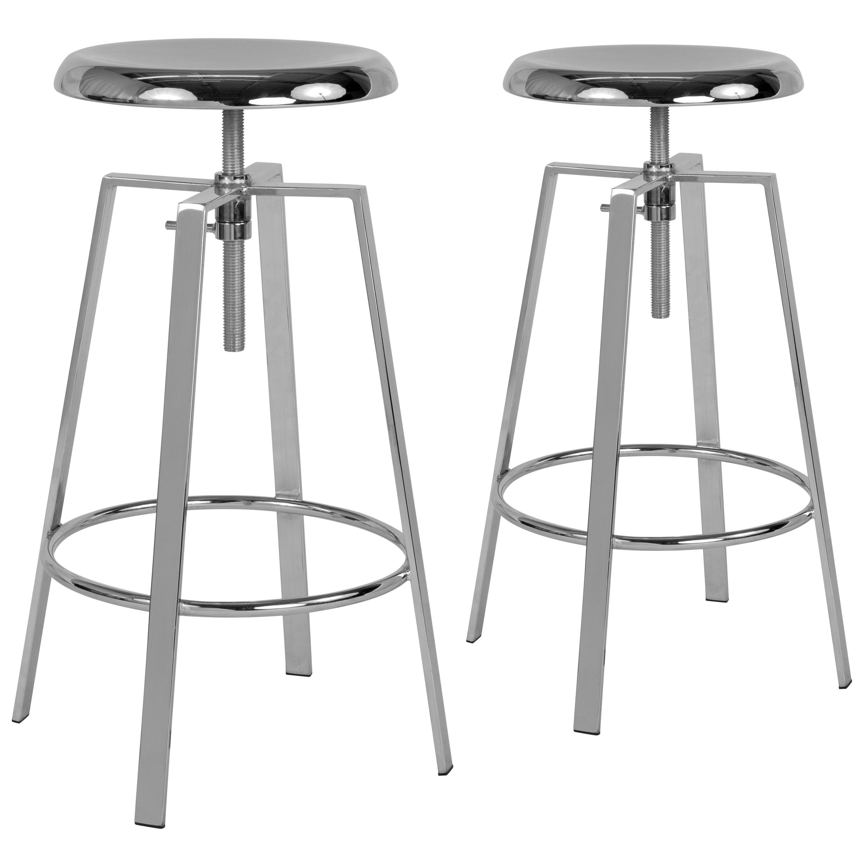 Pleasing Toledo Industrial Style Barstool With Swivel Lift Adjustable Height Seat Inzonedesignstudio Interior Chair Design Inzonedesignstudiocom