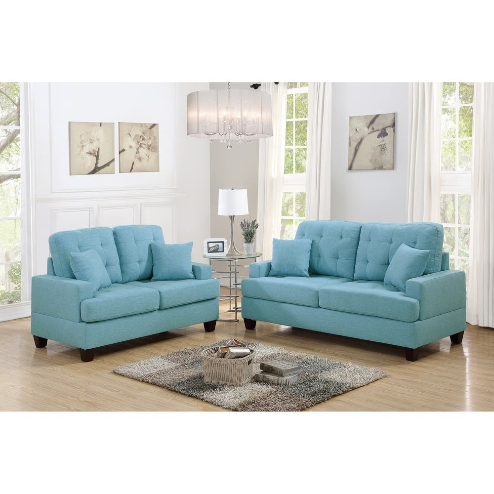 Admirable Shop Jaxon Comfort 2 Piece Sofa Set Free Shipping Today Gmtry Best Dining Table And Chair Ideas Images Gmtryco