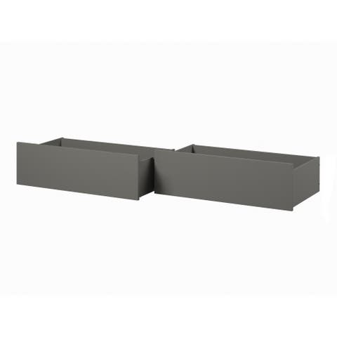 Urban Bed Drawers Queen-King Grey