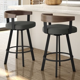 Amisco Lars Swivel Stool