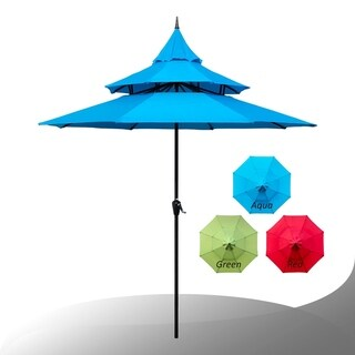 Maypex 9 Feet Pagoda Market Umbrella