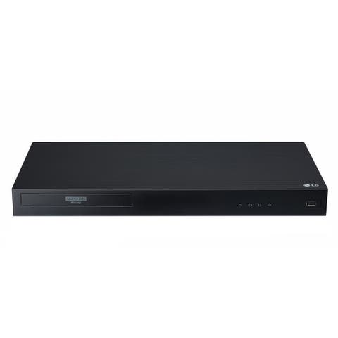 "LG UBK90 - 4K Ultra -HD Blu-ray Disc Player with Dolby Vision - black - 16.9"" x 1.8"" x 8.1"""