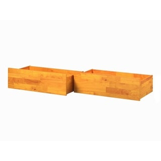 Urban Bed Drawers Queen-King Caramel
